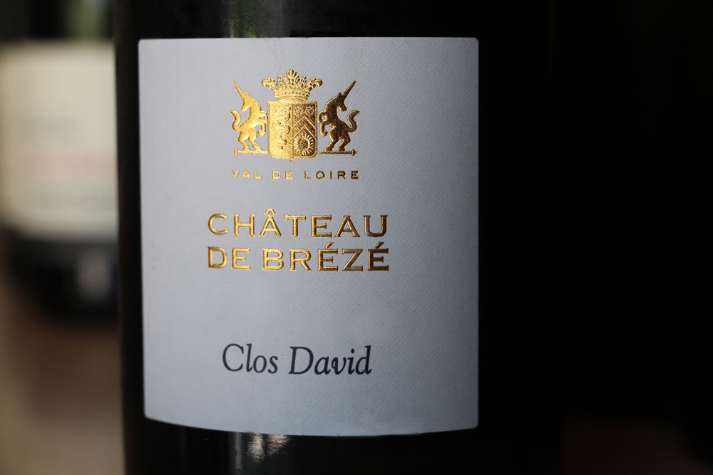 A bottle of the 2010 Clos David that I recently tasted. After more years in the bottle, it was outrageously good.